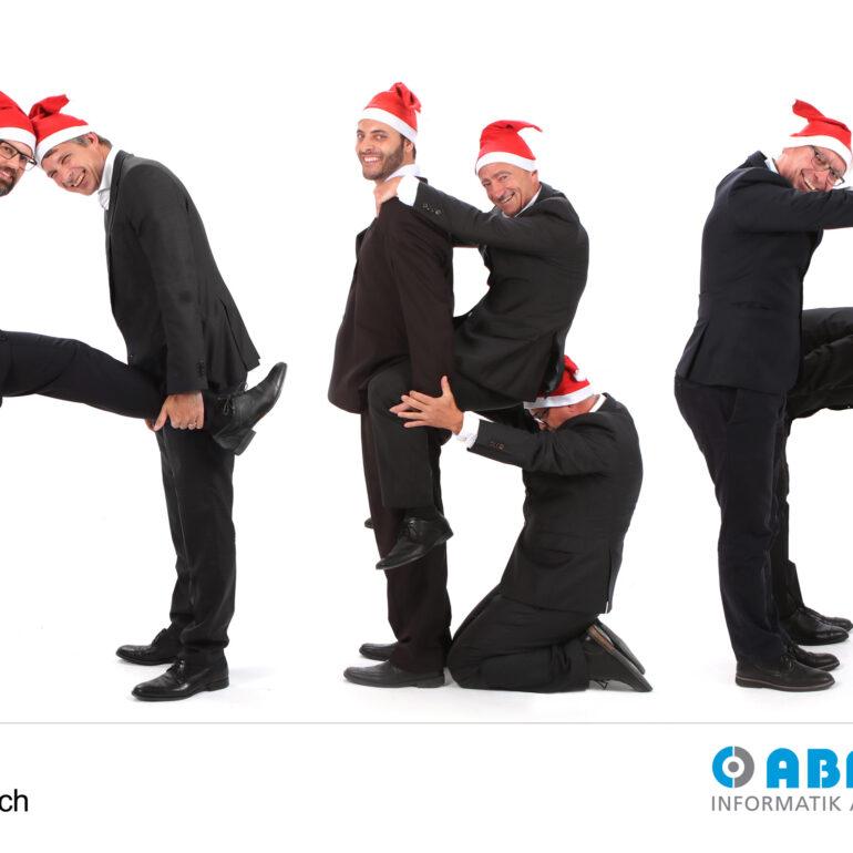 Weihnachtskarten Fotoshooting